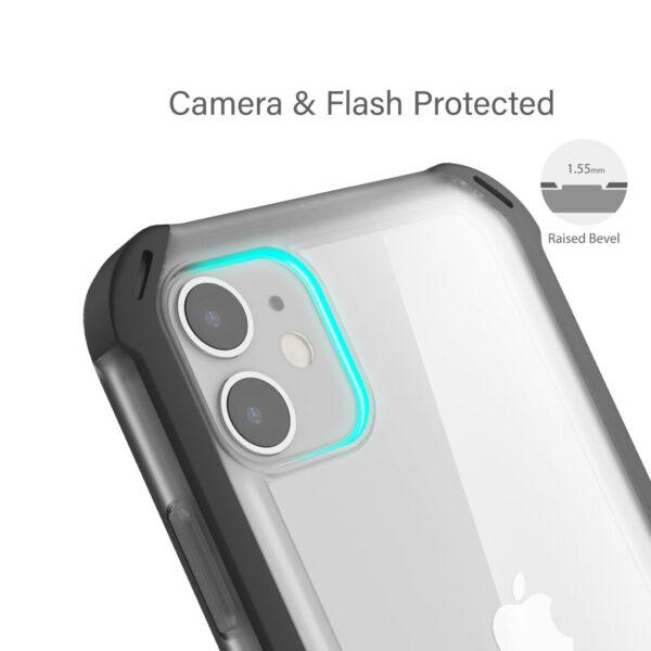 Ghostek Cloak4 Black Shockproof Hybrid Case for Apple iPhone 11