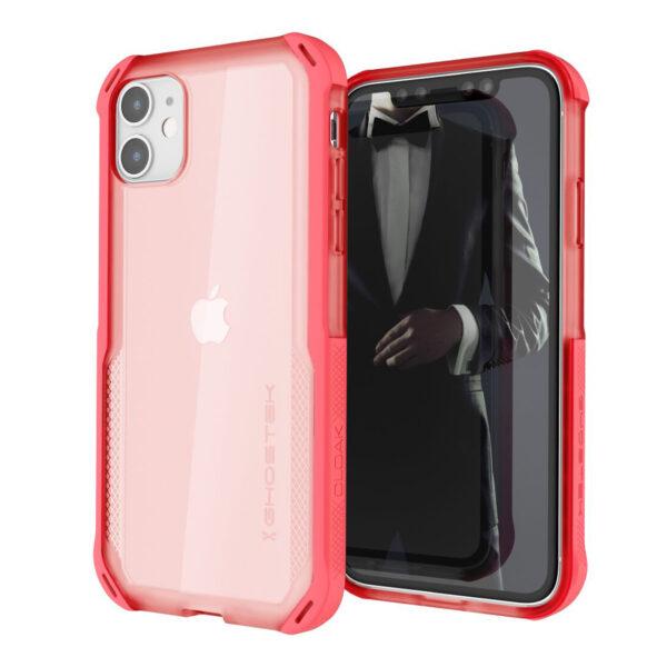 Ghostek Cloak4 Pink Shockproof Hybrid Case for Apple iPhone 11