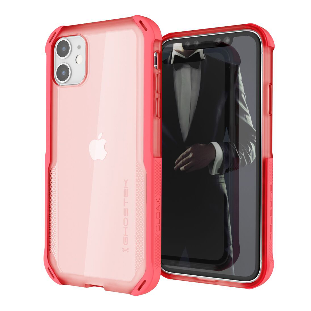 Cloak4 Pink Shockproof Hybrid Case for Apple iPhone 11