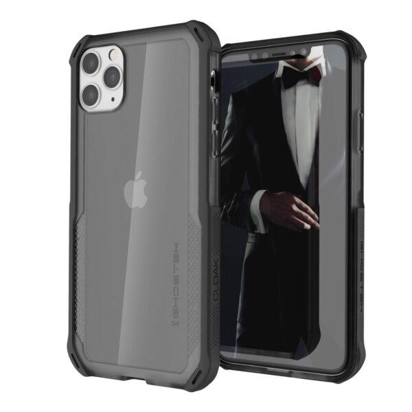 Ghostek Cloak4 Black Shockproof Hybrid Case for Apple iPhone 11 Pro Max