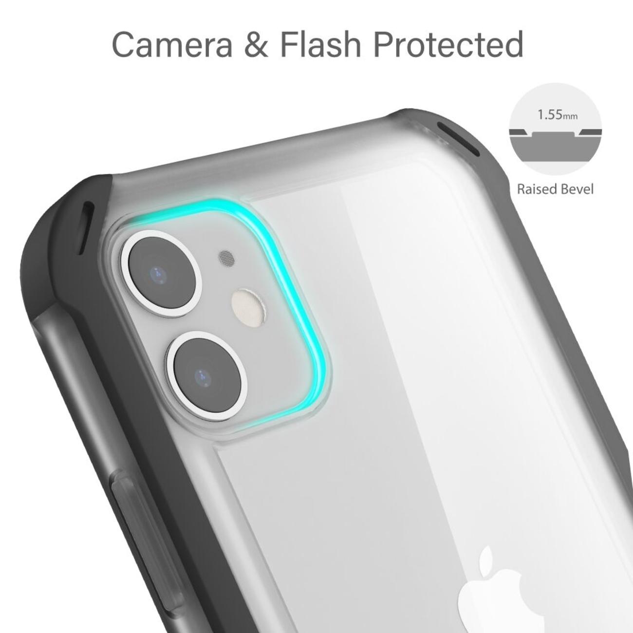 Cloak4 Blue/Gold Shockproof Hybrid Case for Apple iPhone 11