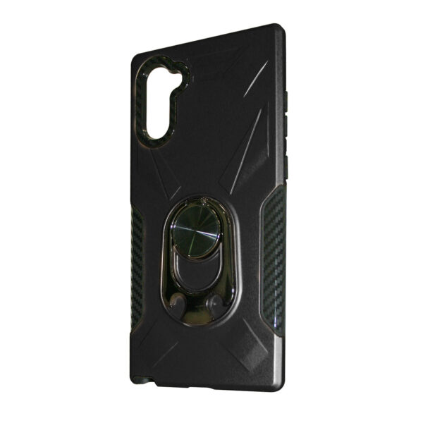 SAMSUNG GALAXY NOTE 10 Case with Ring Holder In Black