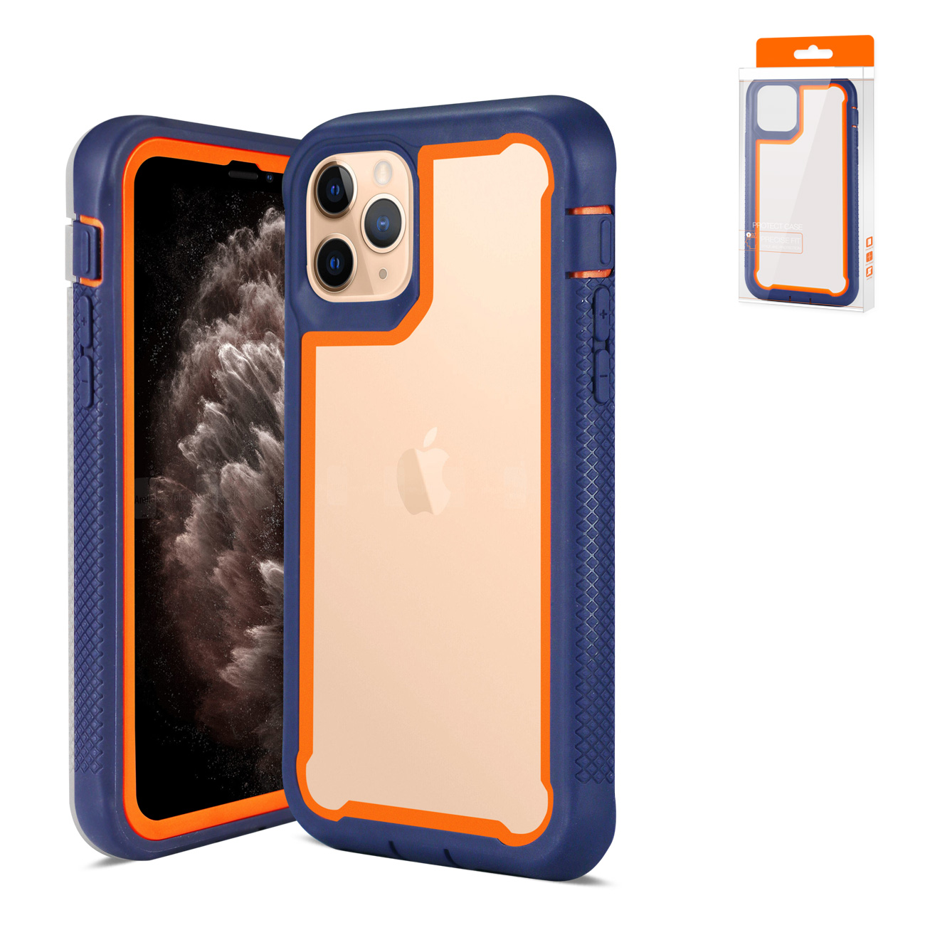APPLE IPHONE 11 PRO MAX Bumper Case In Navy
