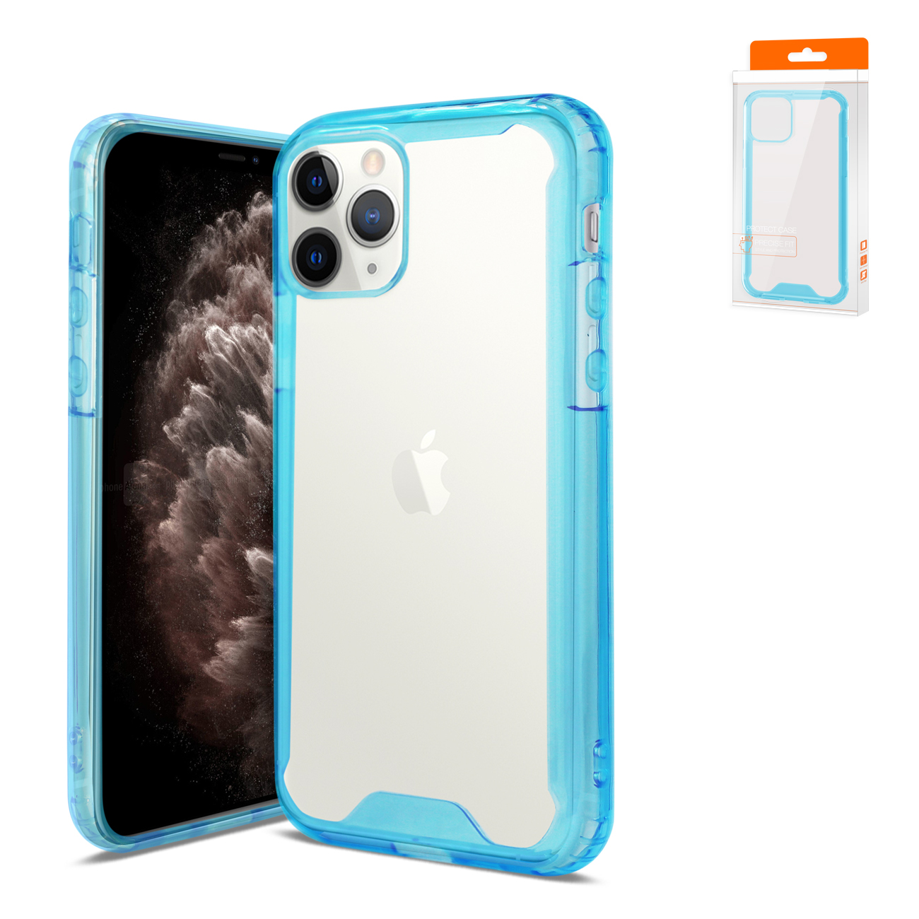 APPLE IPHONE 11 PRO High Quality TPU Case In Blue
