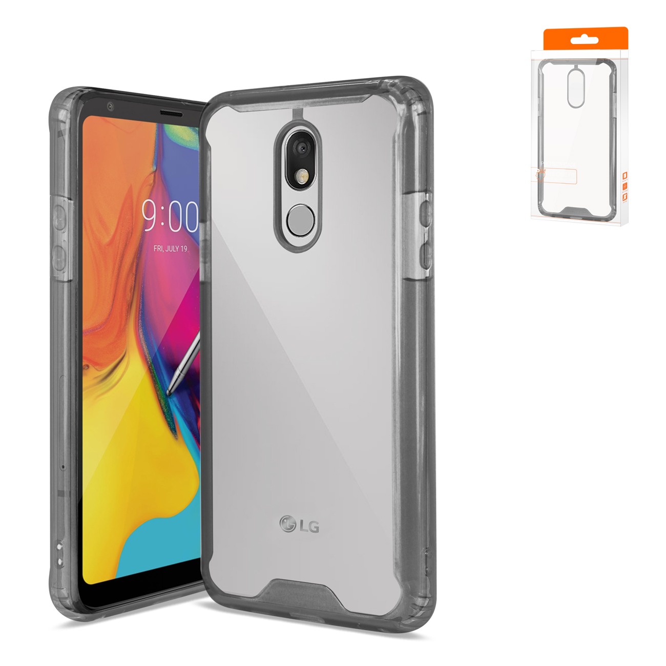 Reiko LG STYLO 5 High Quality TPU Case In Black