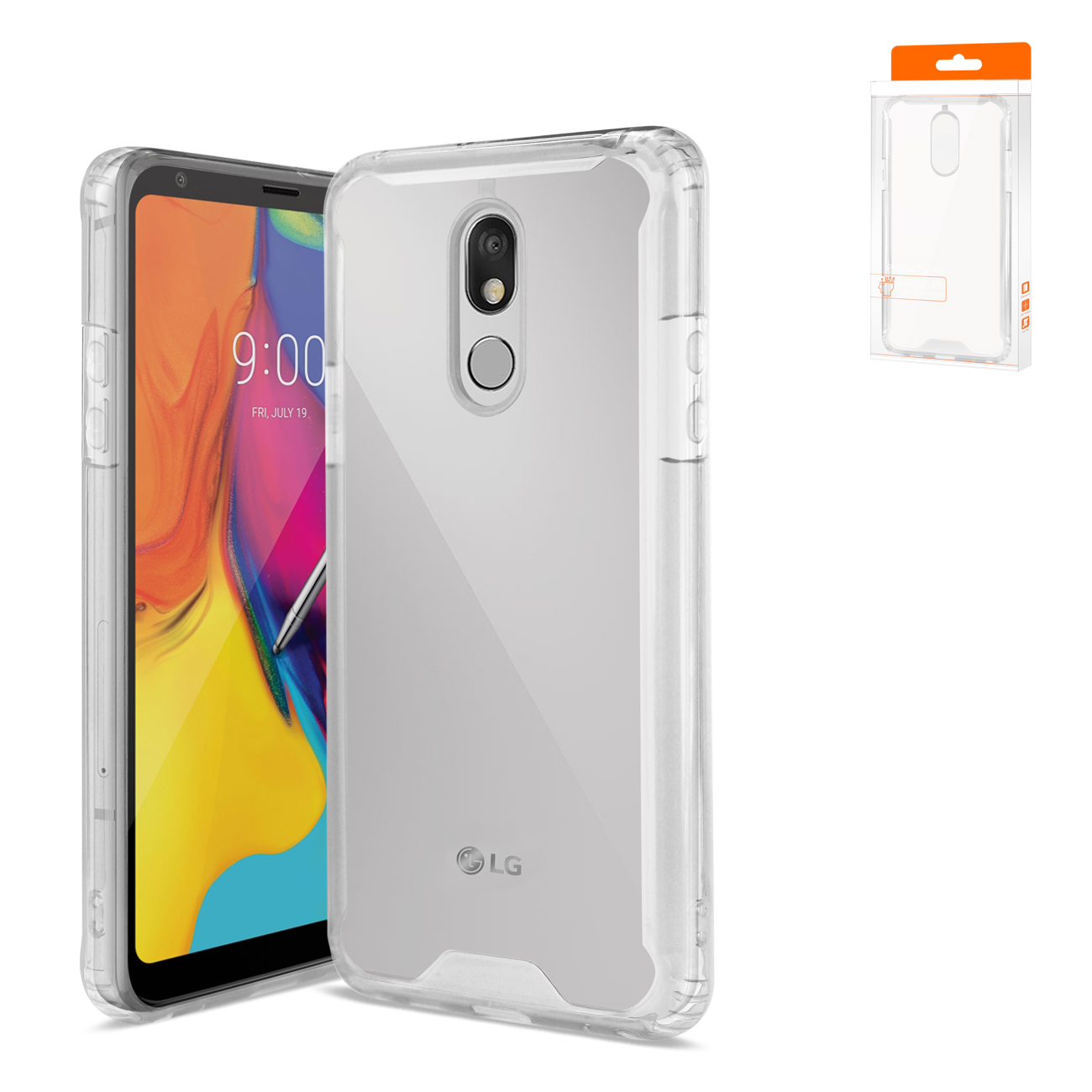 LG STYLO 5 High Quality TPU Case In Clear