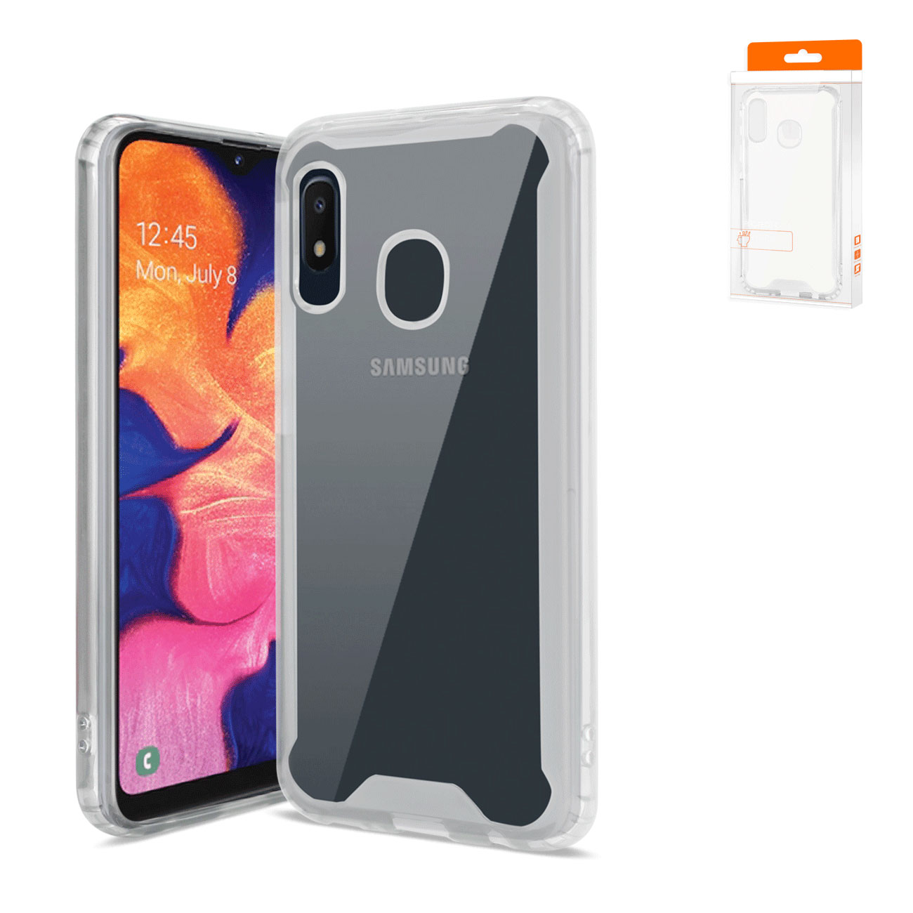 SAMSUNG GALAXY A10E High Quality TPU Case In Clear