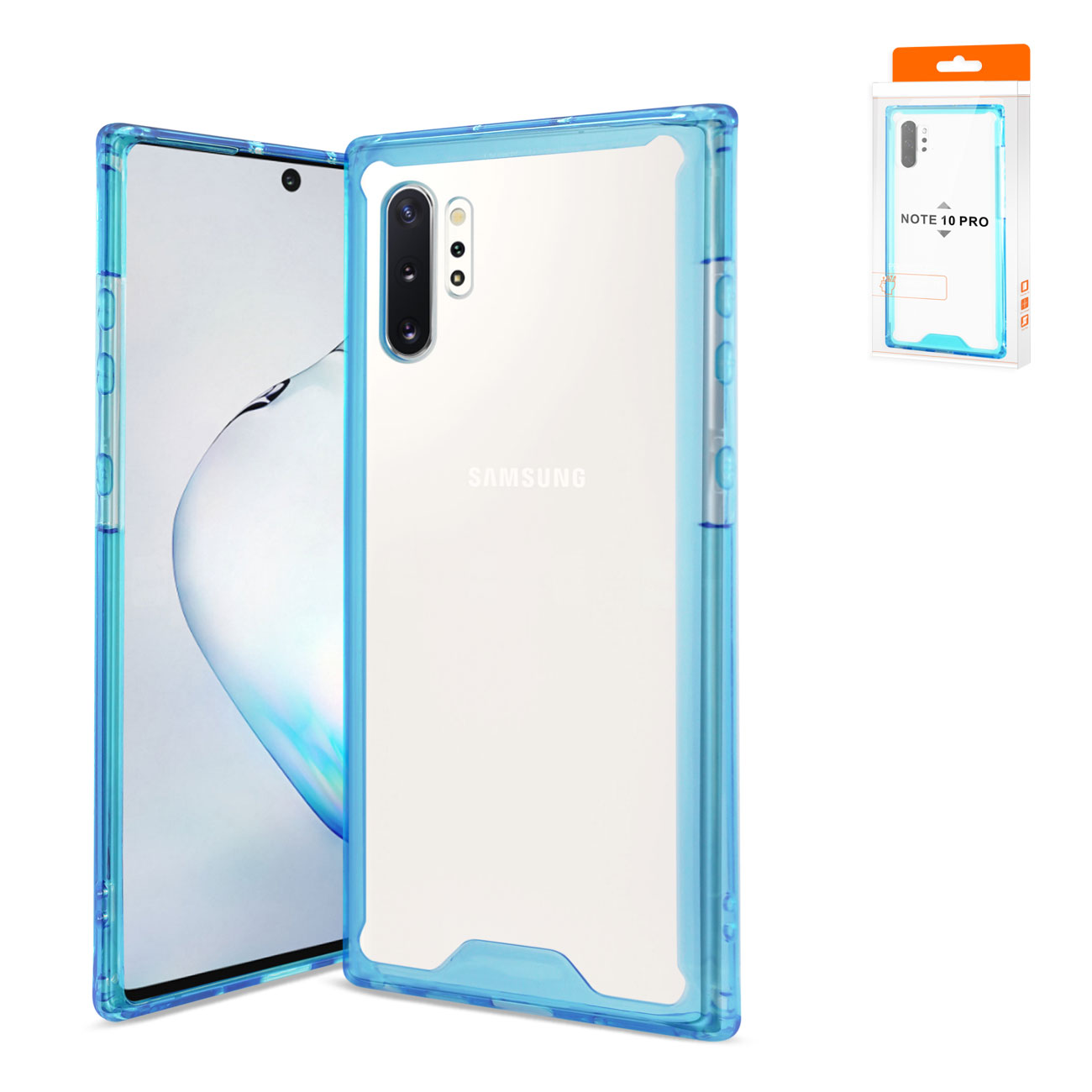 SAMSUNG GALAXY NOTE 10 PLUS High Quality TPU Case In Blue