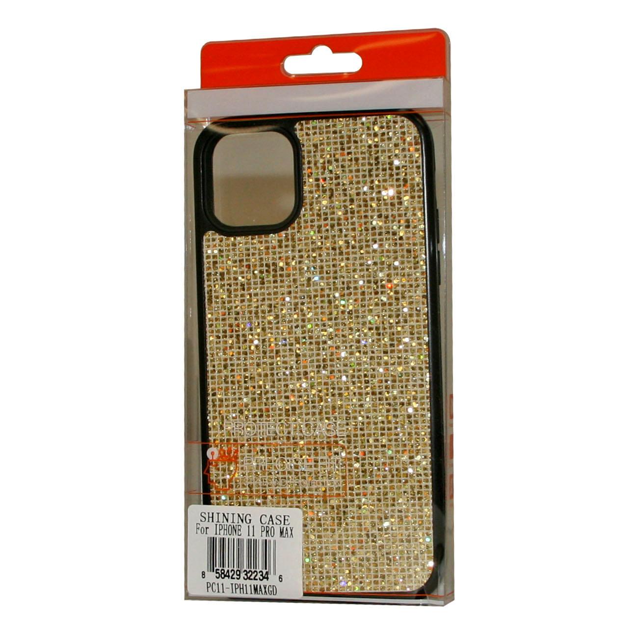 DIAMOND RHINESTONE Case For APPLE IPHONE 11 PRO MAX In Gold