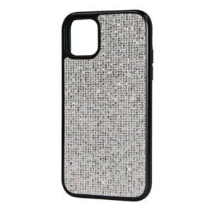 Reiko DIAMOND RHINESTONE Case For APPLE IPHONE 11 PRO MAX In Silver