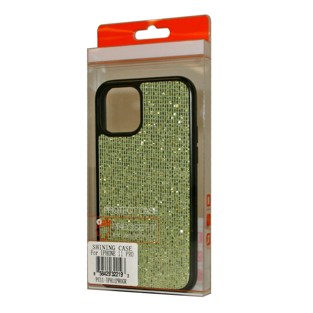DIAMOND RHINESTONE Case For APPLE IPHONE 11 PRO In Green