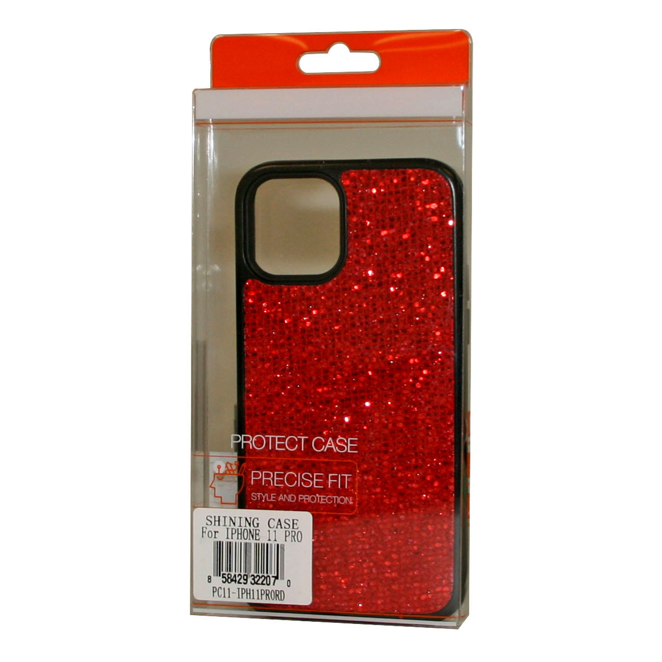 DIAMOND RHINESTONE Case For APPLE IPHONE 11 PRO In Red