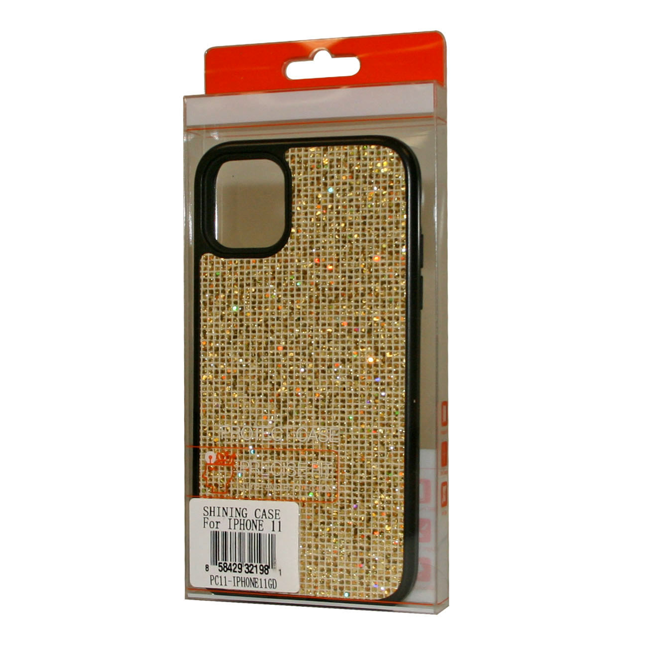DIAMOND RHINESTONE Case For APPLE IPHONE 11 In Gold