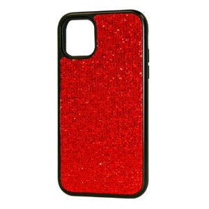 Reiko DIAMOND RHINESTONE Case For APPLE IPHONE 11 In Red