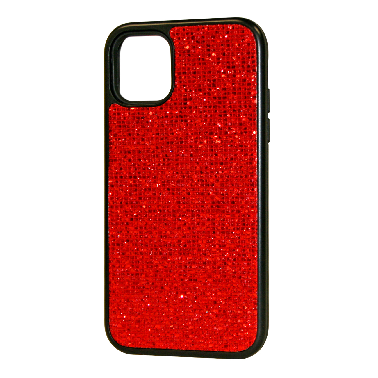 DIAMOND RHINESTONE Case For APPLE IPHONE 11 In Red