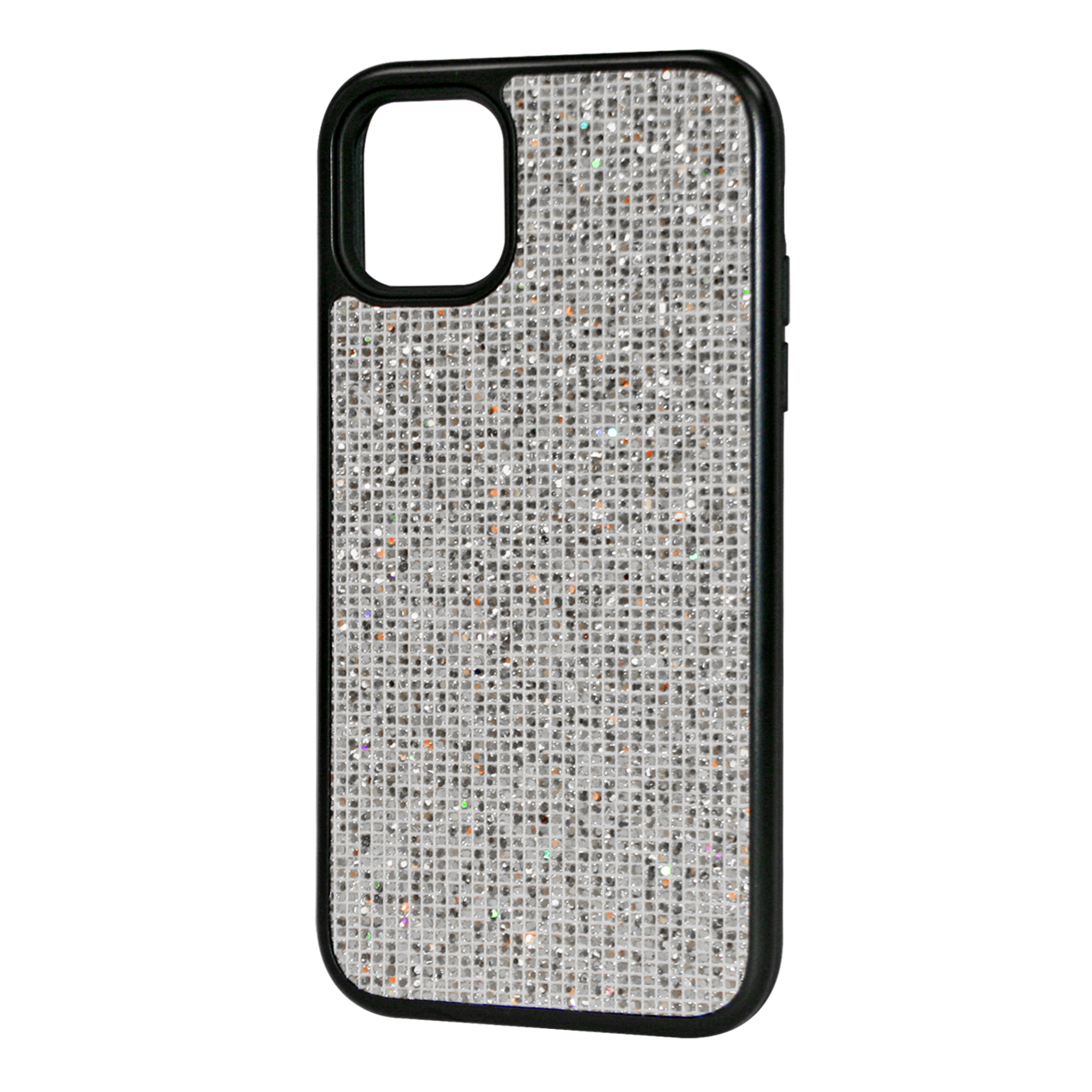 DIAMOND RHINESTONE Case For APPLE IPHONE 11 In Silver