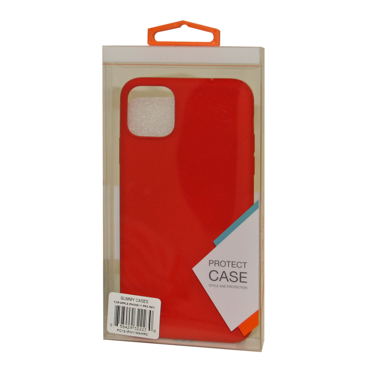 Apple iPhone 11 Pro Max Gummy Cases In Red