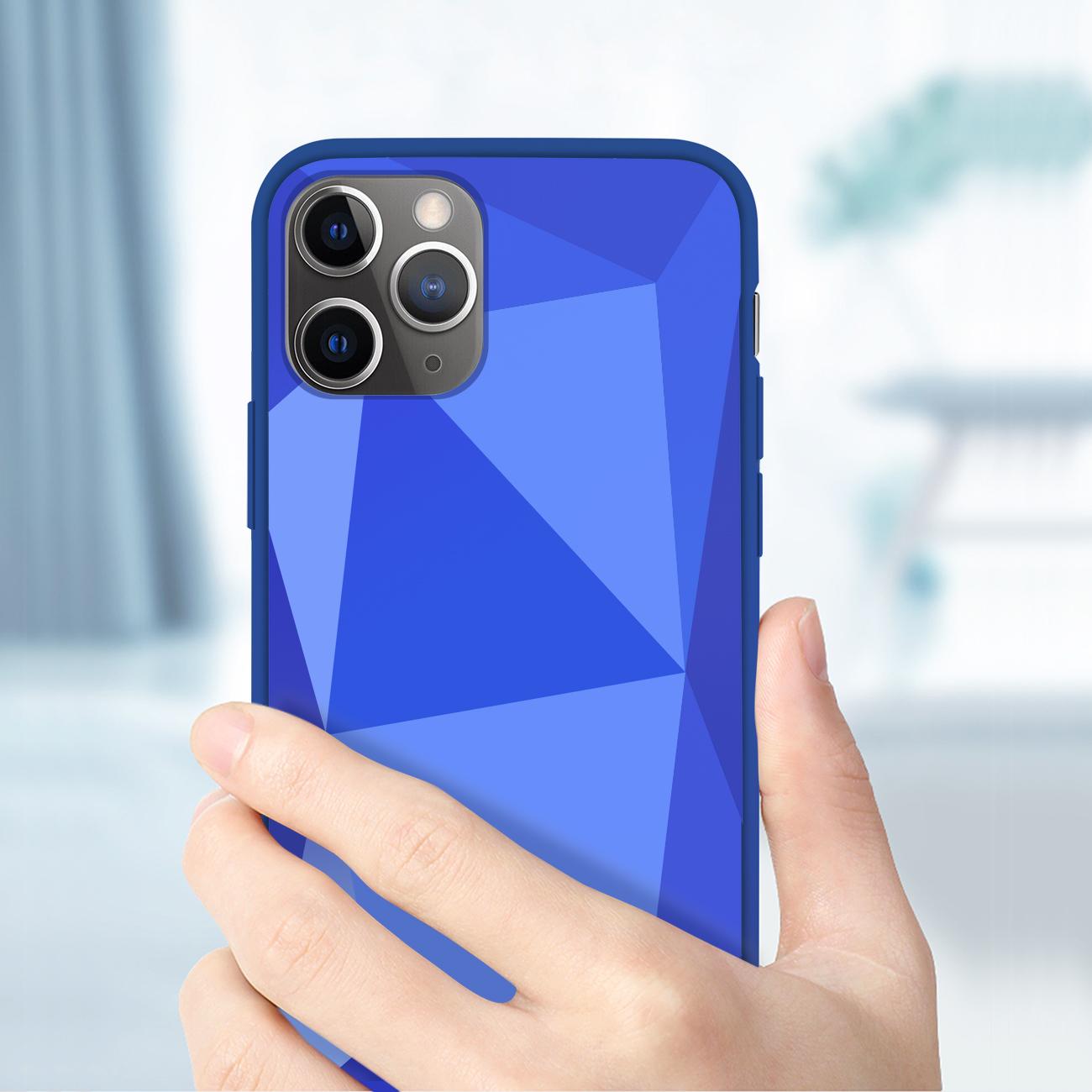 Apple iPhone 11 Pro Max Apple Diamond Cases In Blue