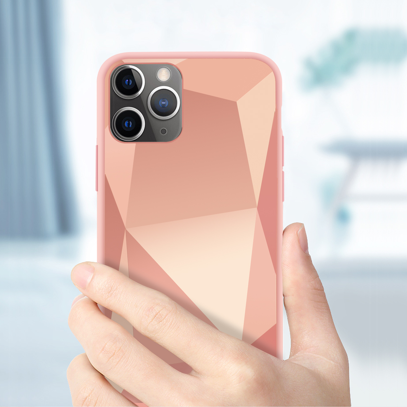 Apple iPhone 11 Pro Max Apple Diamond Cases In Rose Gold