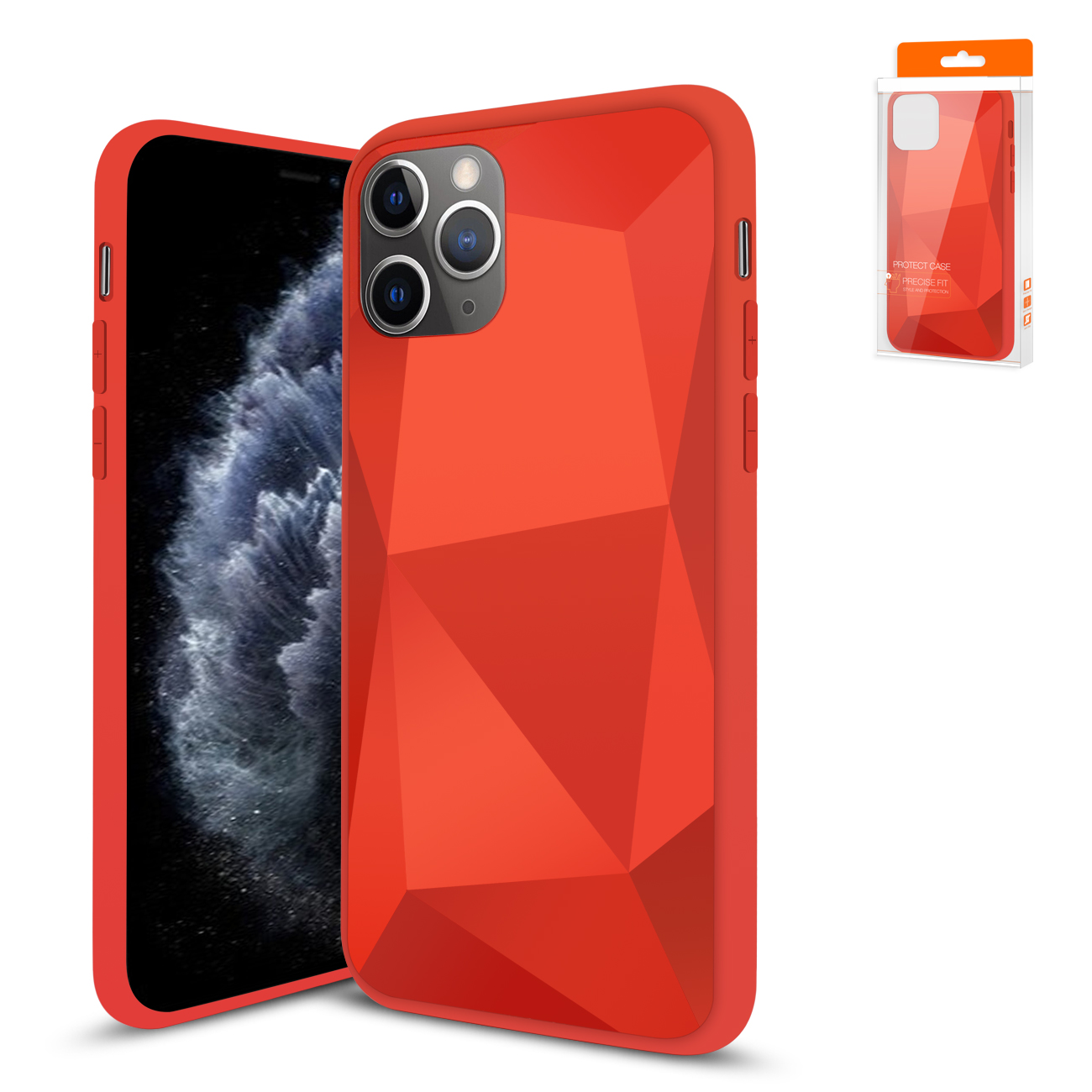 Apple iPhone 11 Pro Apple Diamond Cases In Red