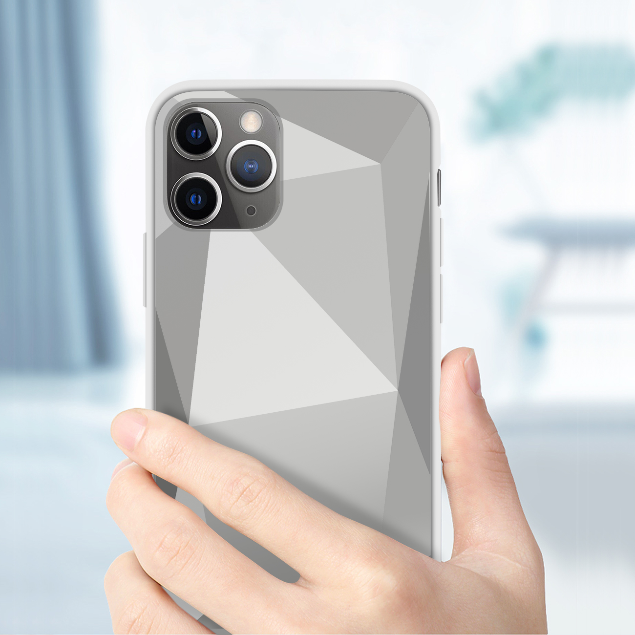Apple iPhone 11 Pro Apple Diamond Cases In Silver