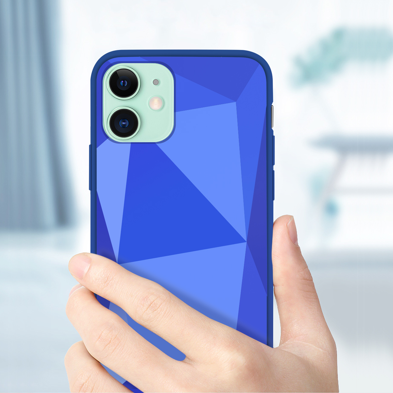 Apple iPhone 11 Apple Diamond Cases In Blue