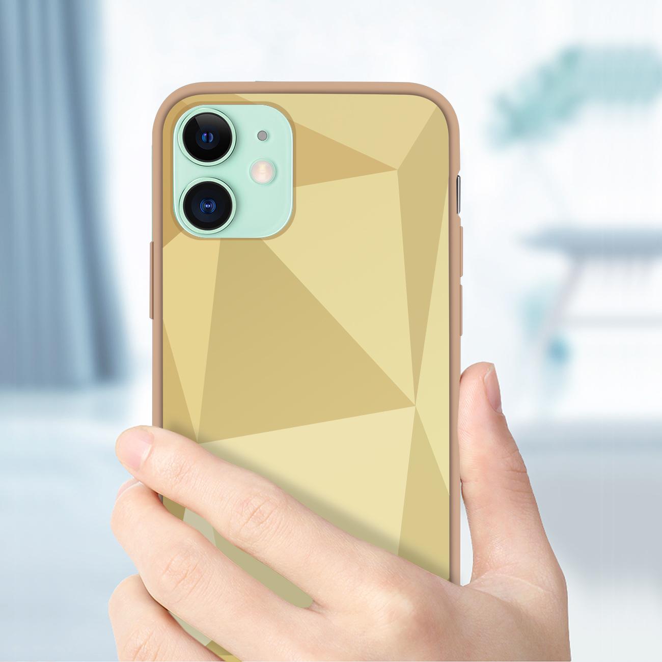 Apple iPhone 11 Apple Diamond Cases In Gold