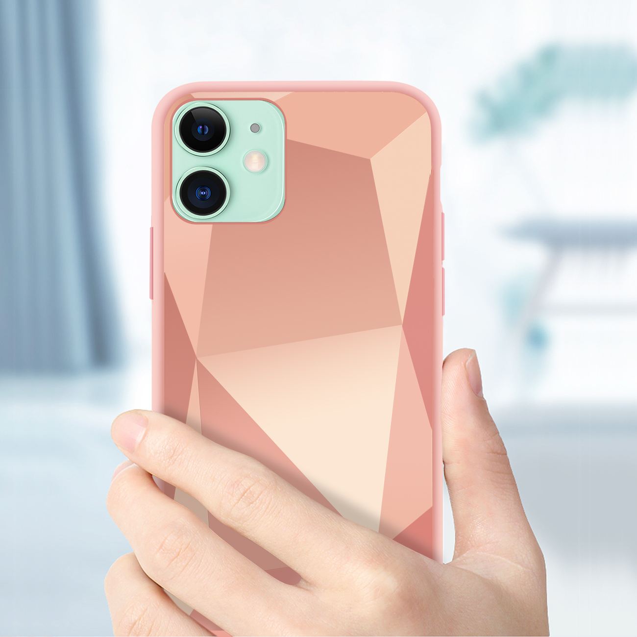 Apple iPhone 11 Apple Diamond Cases In Rose Gold