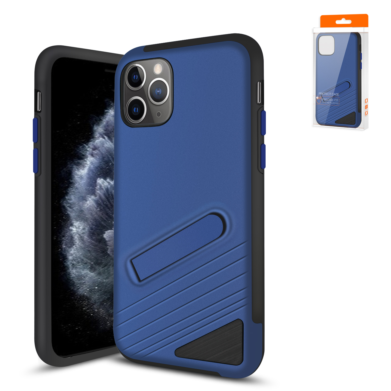 Apple iPhone 11 Pro Max Armor Cases In Navy