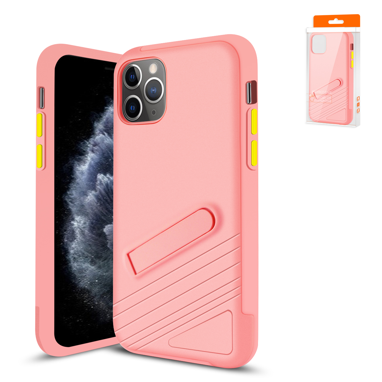 Apple iPhone 11 Pro Max Armor Cases In Pink