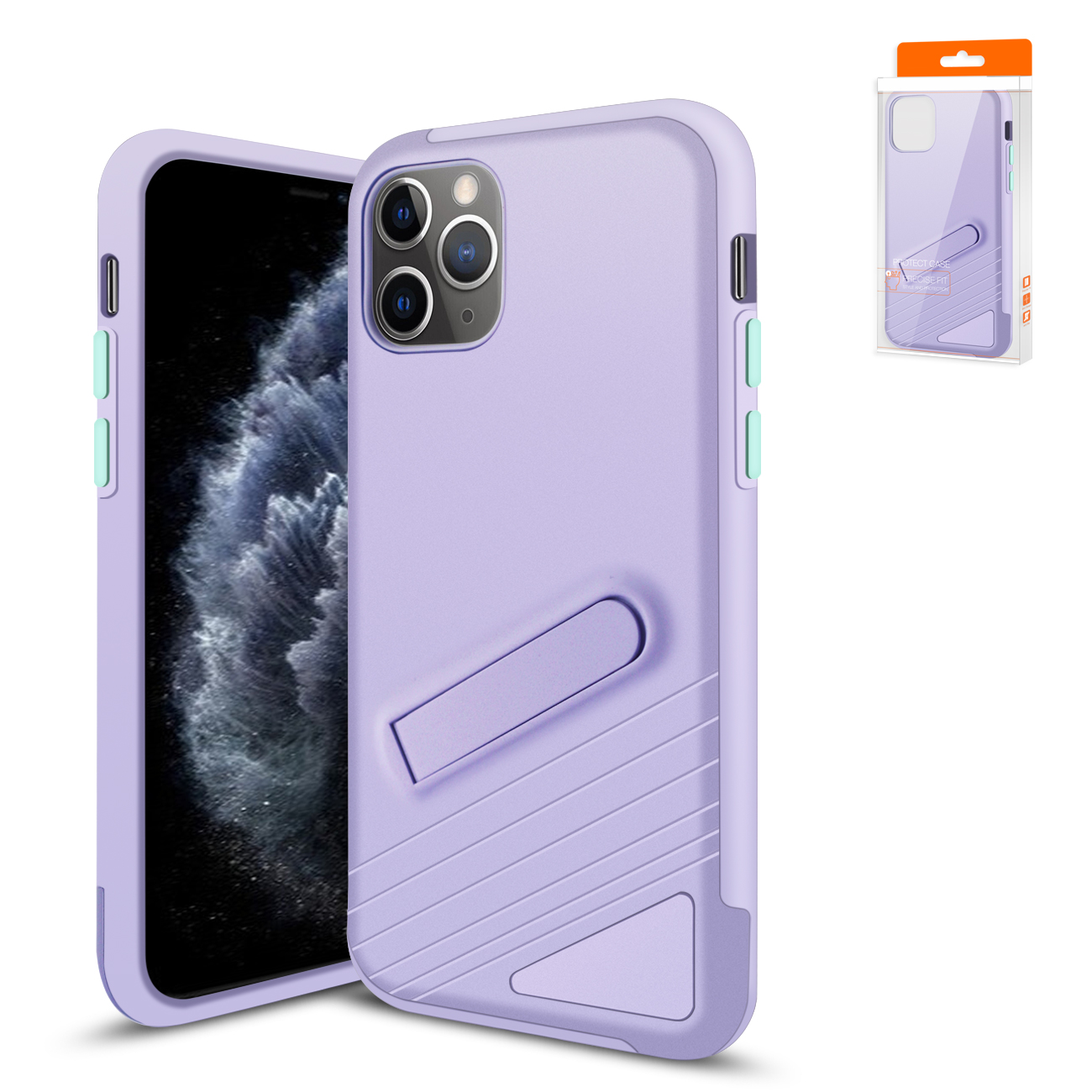 Apple iPhone 11 Pro Max Armor Cases In Purple