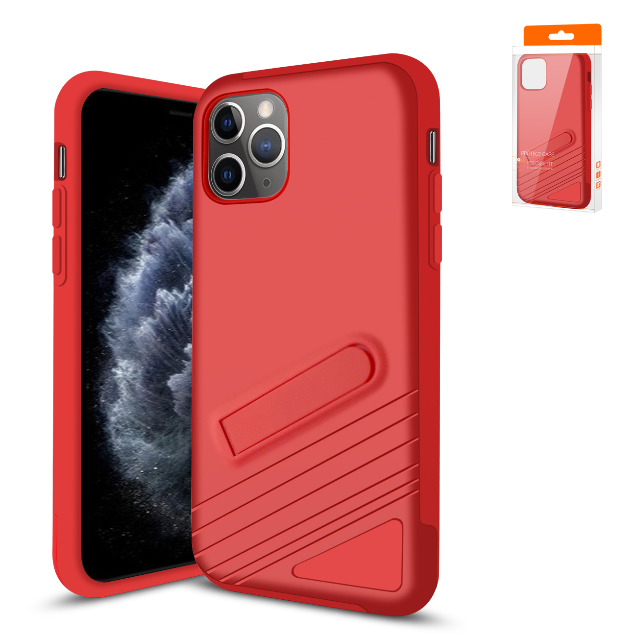 Apple iPhone 11 Pro Max Armor Cases In Red