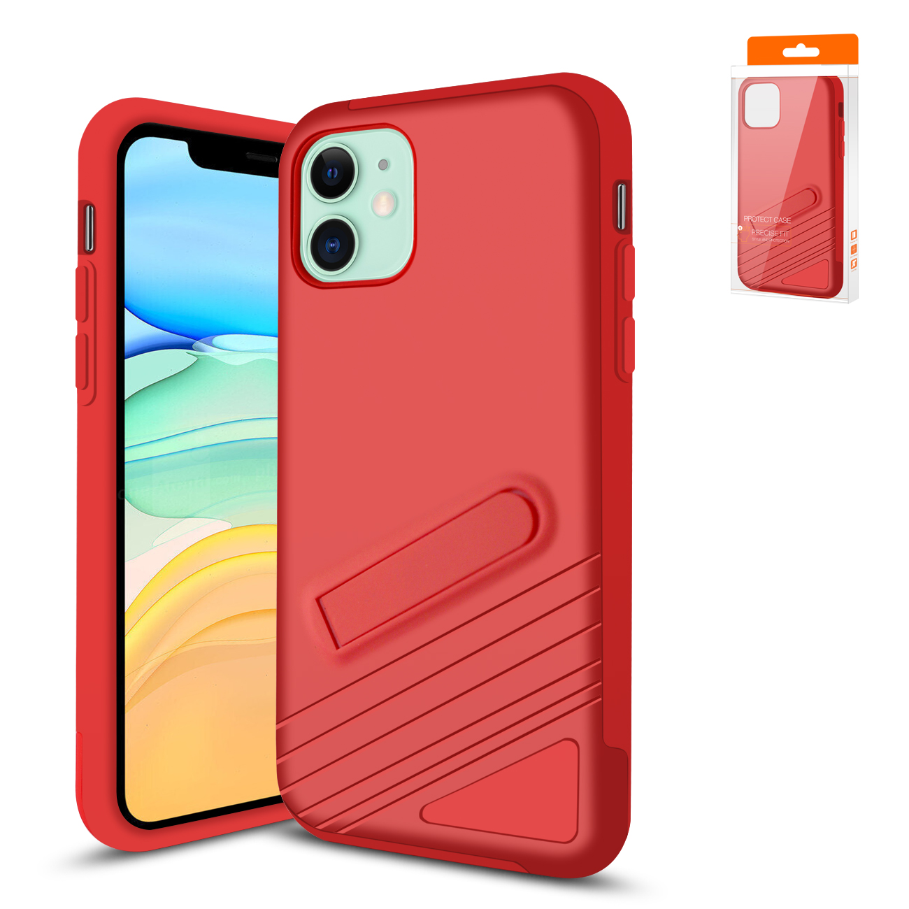 Apple iPhone 11 Armor Cases In Red