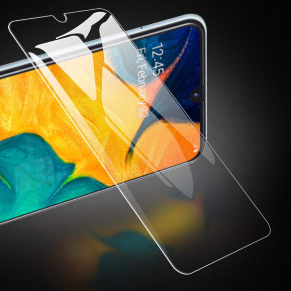 REIKO SAMSUNG GALAXY A10E(2019) TEMPERED GLASS SCREEN PROTECTOR IN CLEAR