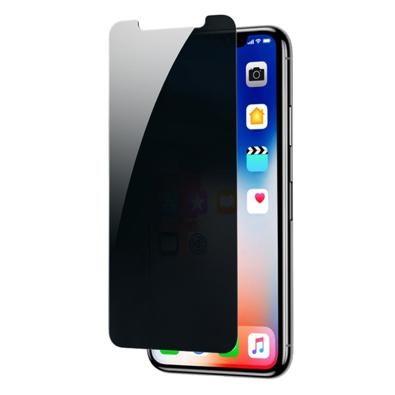 Apple iPhone 11 Pro Max Privacy Screen Protector In Black