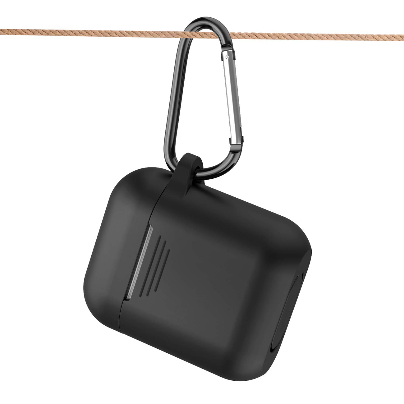 Silicone Case for Airpods in Black