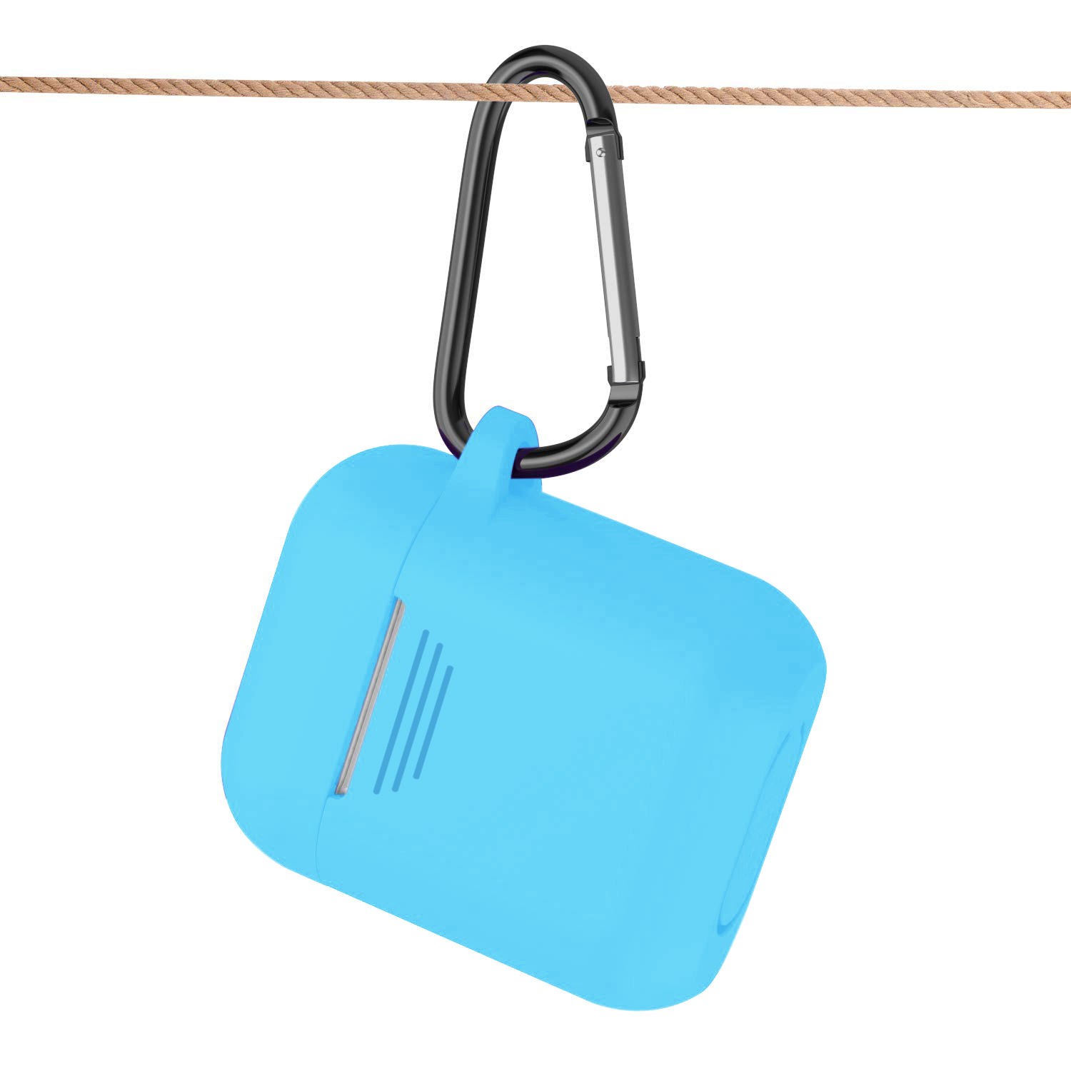 Silicone Case for Airpods in Blue