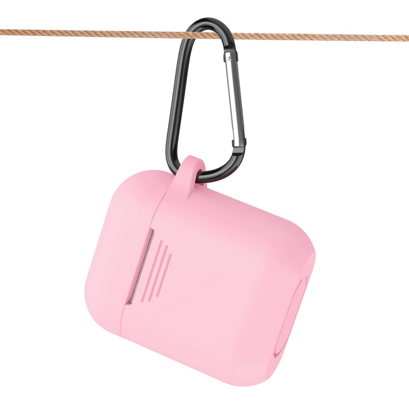 Silicone Case for Airpods in Pink