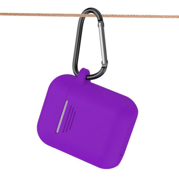 Reiko Silicone Case for Airpods in Purple