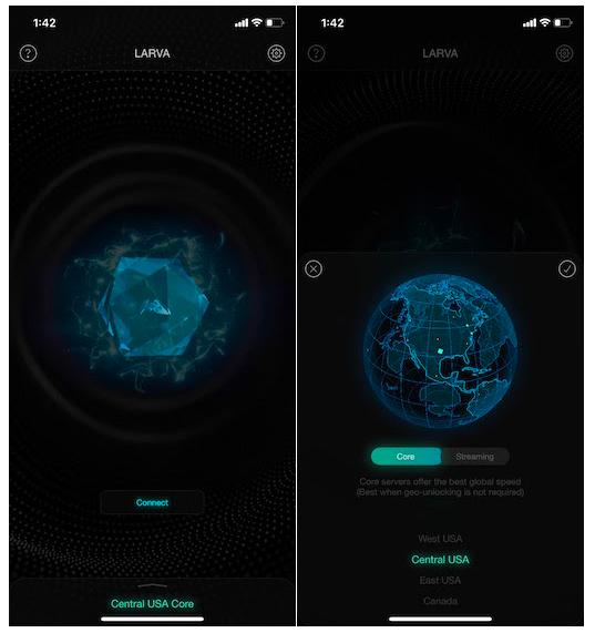 Larva VPN