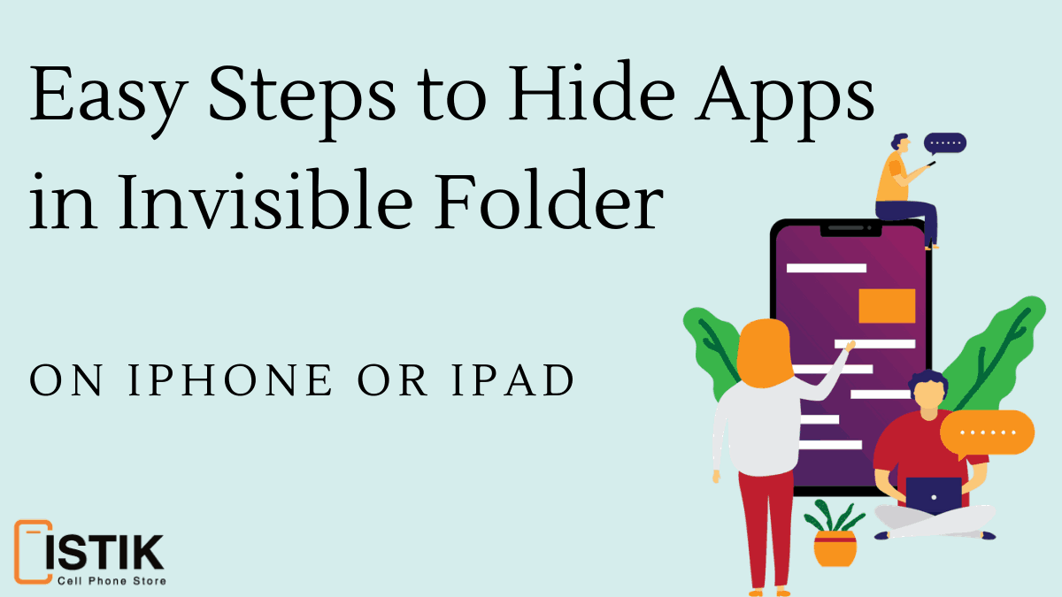 hide folders in iphone