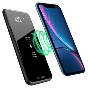 Cellet Qi Wireless Charging Pad Power Bank 📲 [ 10000 MAH ]