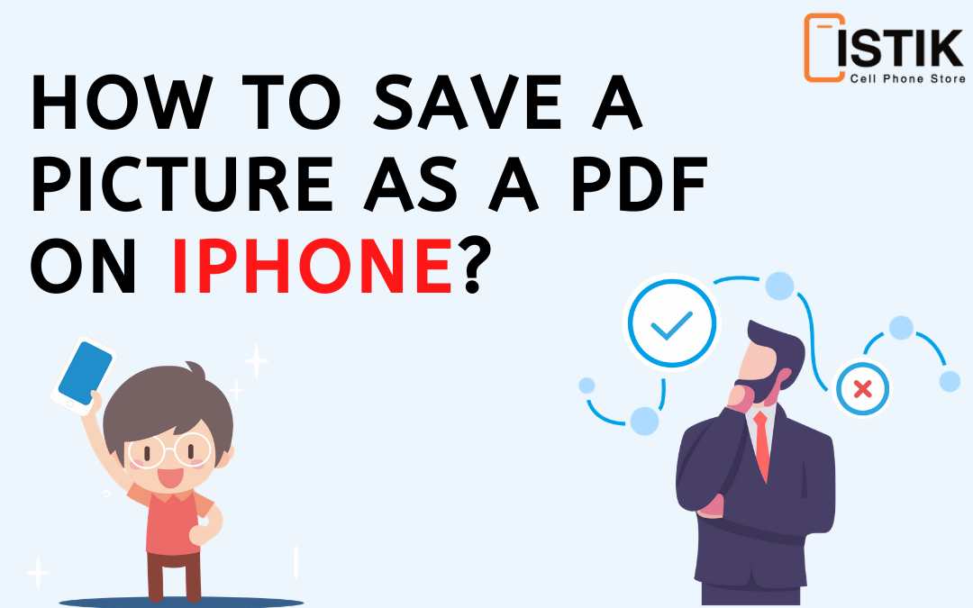 How to Save a Picture as a PDF on iPhone?